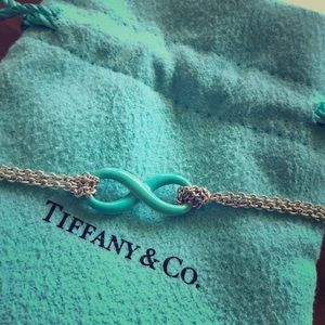 Timeless, Authentic Tiffany's Infinity Bracelet